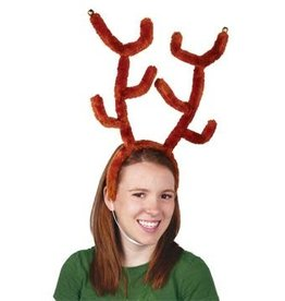 Beistle Reindeer Antlers with Bells