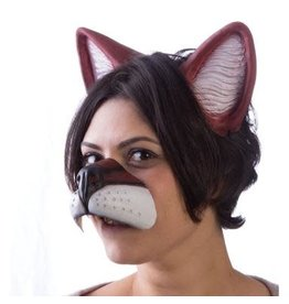 HM Smallwares Fox Nose and Ear Set