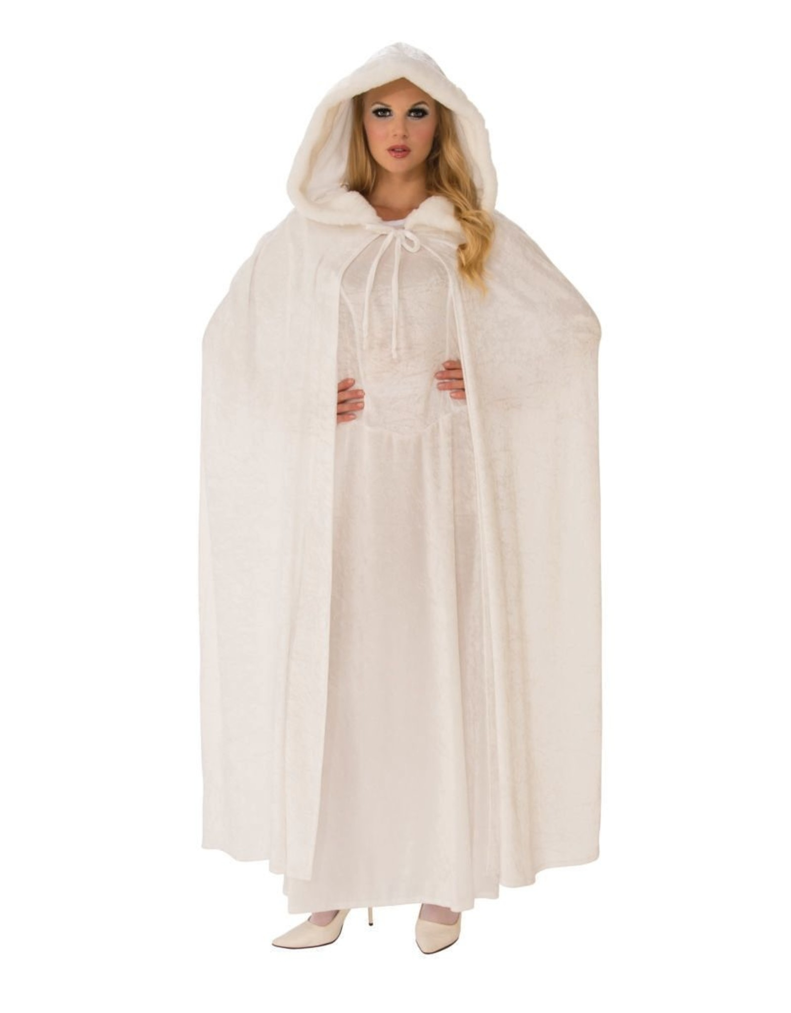 Rubies Costume Wintry White Cape