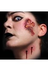 Tinsley Transfers Vampire Kiss Trauma tattoo