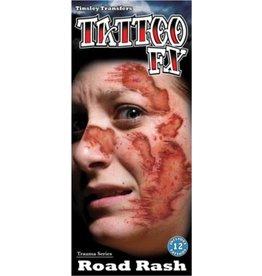 Tinsley Transfers Road Rash Temporary Tattoo