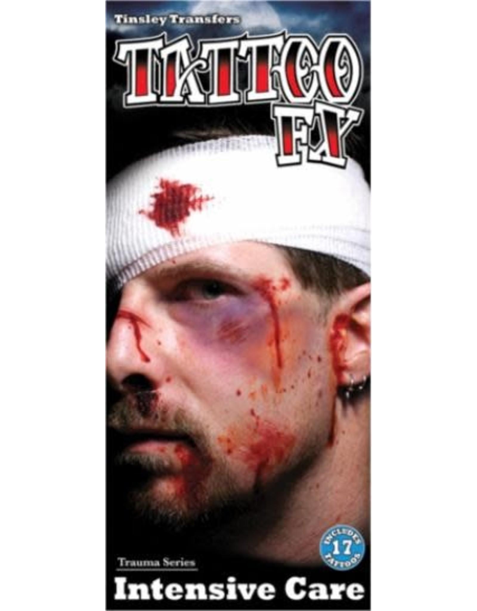 Tinsley Transfers Intensive Care Trauma Tattoo