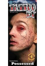 Tinsley Transfers Possessed Veins Trauma Tattoo