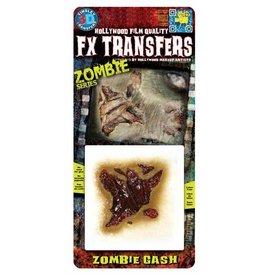 Tinsley Transfers Zombie Series 3D Temporary Tattoos