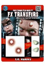 Tinsley Transfers Horns 3D Tattoos