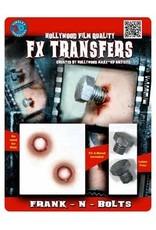 Tinsley Transfers Frank-N-Bolts 3D Tattoo