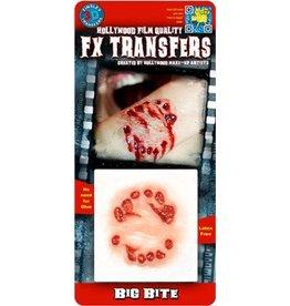 Tinsley Transfers Big Bite 3D Tattoo