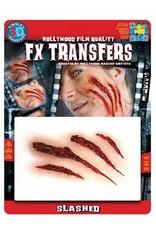 Tinsley Transfers Slashed 3D Tattoo