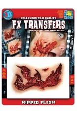 Tinsley Transfers Ripped Flesh 3D Tattoo