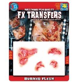 Tinsley Transfers Burned Flesh 3D Tattoo