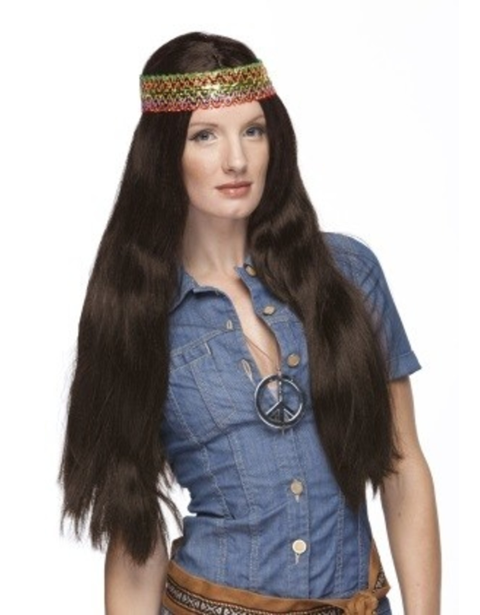 Westbay Wigs Hippie Wig with Detachable Headband