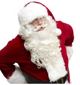 HM Smallwares Ultimo Santa Wig and Beard Set