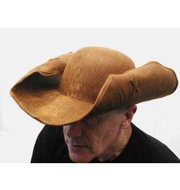 HM Smallwares Adjustable Leatherlike Pirate Hat