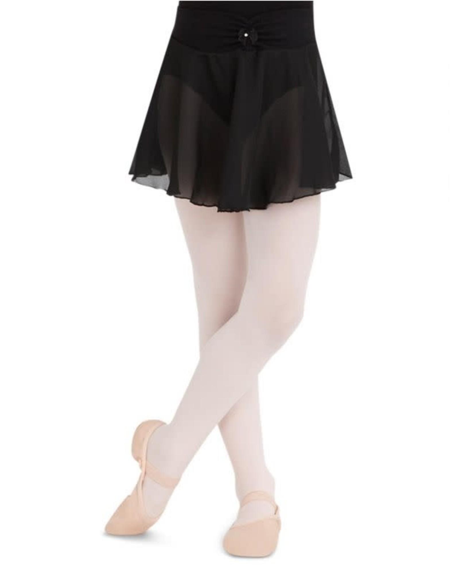 Capezio Pull On Georgette Skirt