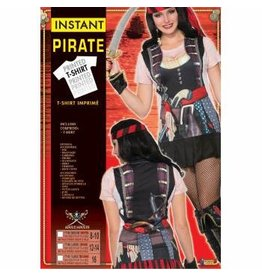 Forum Novelties Inc. Instant Pirate Lady Shirt