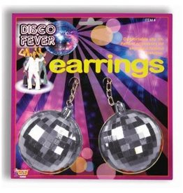 Forum Novelties Inc. Jumbo Disco Ball Earrings