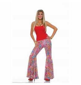 Forum Novelties Inc. Wild Swirl Bell Bottom Pants