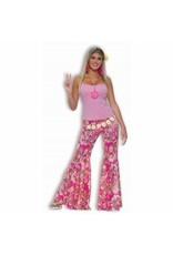 Forum Novelties Inc. Flower Power Bell Bottom Pants