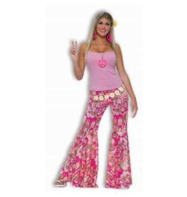 Forum Novelties Inc. Flower Power Bell Bottom Pants