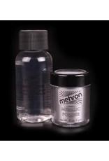 Mehron Metallic Powder with Mixing Liquid