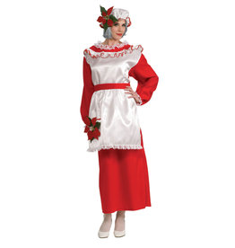 Rubies Costume Mrs. Poinsettia Claus Dress