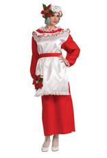 Rubies Costume Mrs. Poinsettia Claus Dress