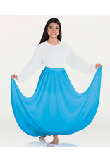 Body Wrappers Praise Dance Black Circle Skirt