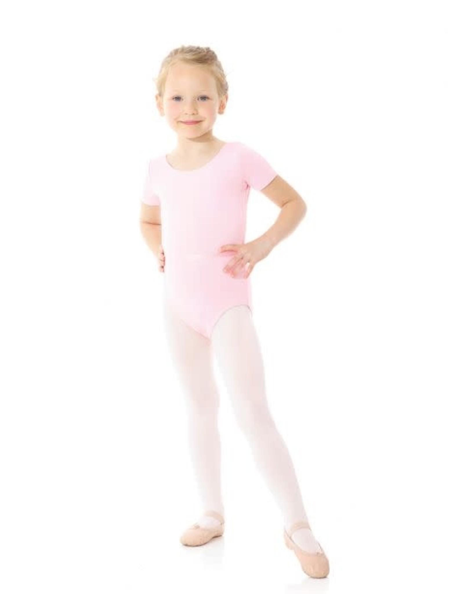 Mondor True Pink RAD Short Sleeve Leotard
