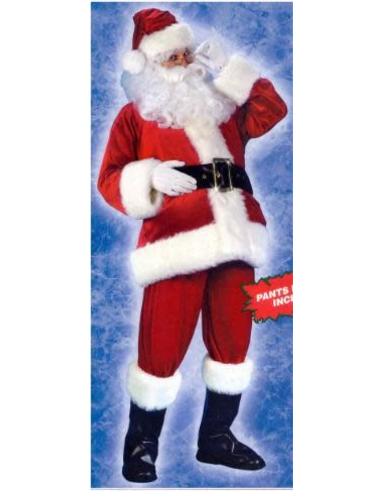 Fun World Plus Velvet Santa Suit