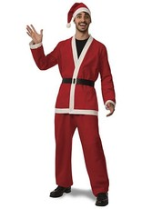 Rubies Costume Flannel Santa Suit