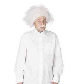 Fun World Scientist Wig and Moustache