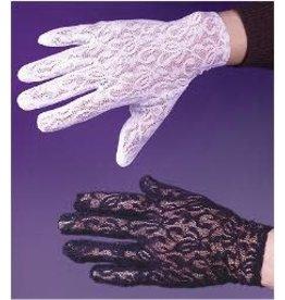 Fun World White Lace Gloves