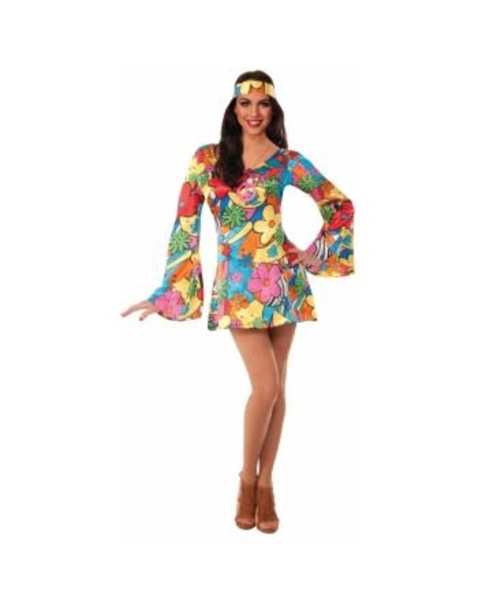 Forum Novelties Inc. Groovy Go-Go Dress