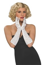 Rubies Costume Satin Elbow Gloves