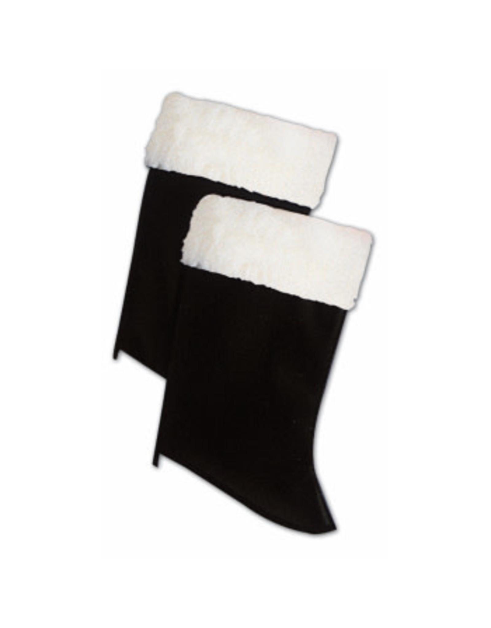 Forum Novelties Inc. Deluxe Santa's Boot Tops with Fur