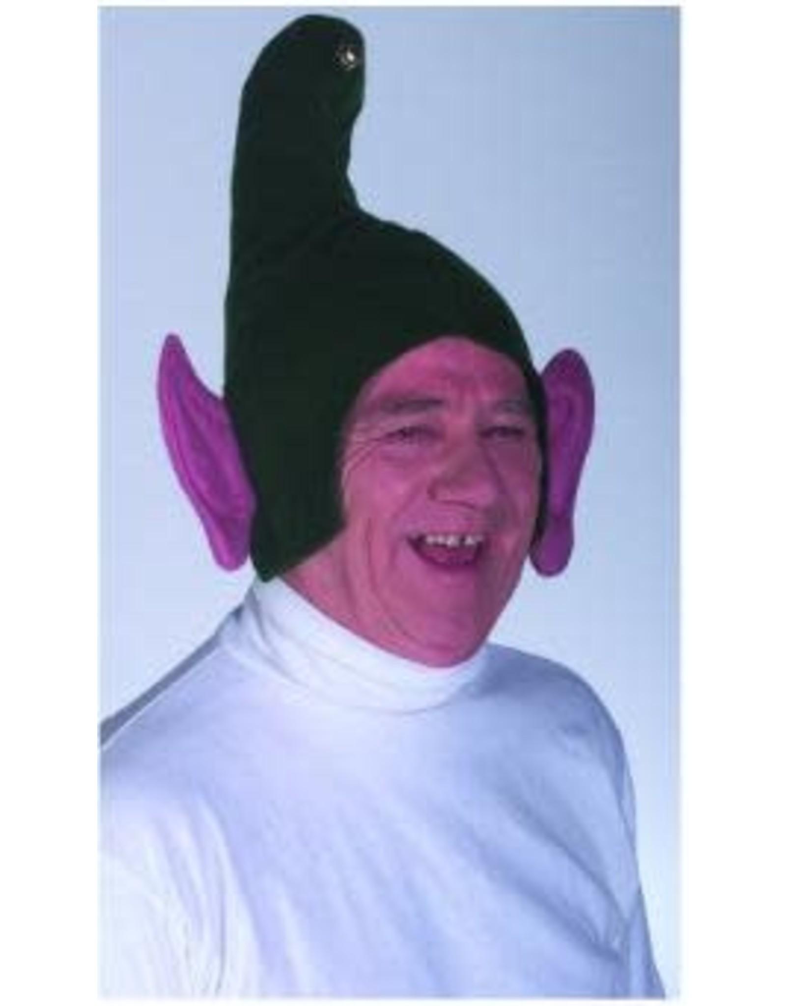 Rasta Imposta Green Elf Hat with Ears