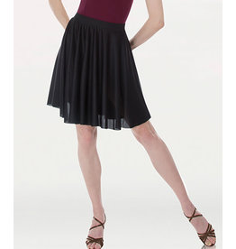 Body Wrappers Above-The-Knee Circle Skirt