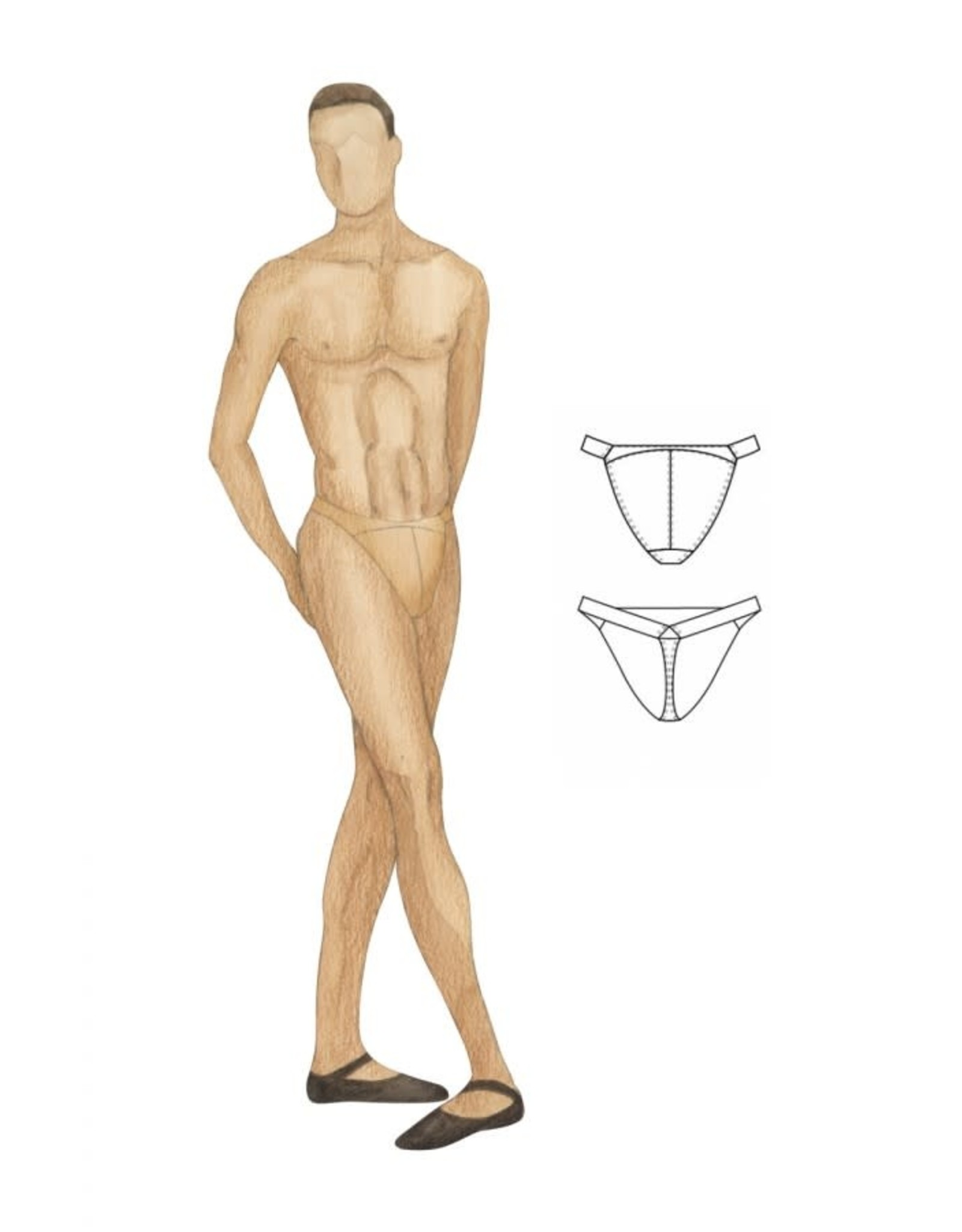 Bloch Men's Narrow Dance Belt
