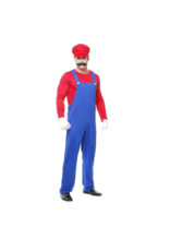 Charades Costumes Pete The Plumber - Red