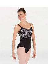 Body Wrappers Sweetheart Lace Bodice Leotard