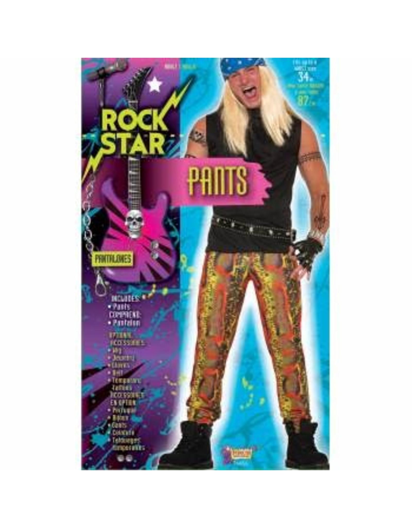 Forum Novelties Inc. Snake Skin Rocker Pants