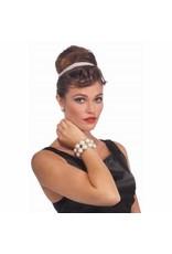 Forum Novelties Inc. Vintage Hollywood Double Pearl Bracelet