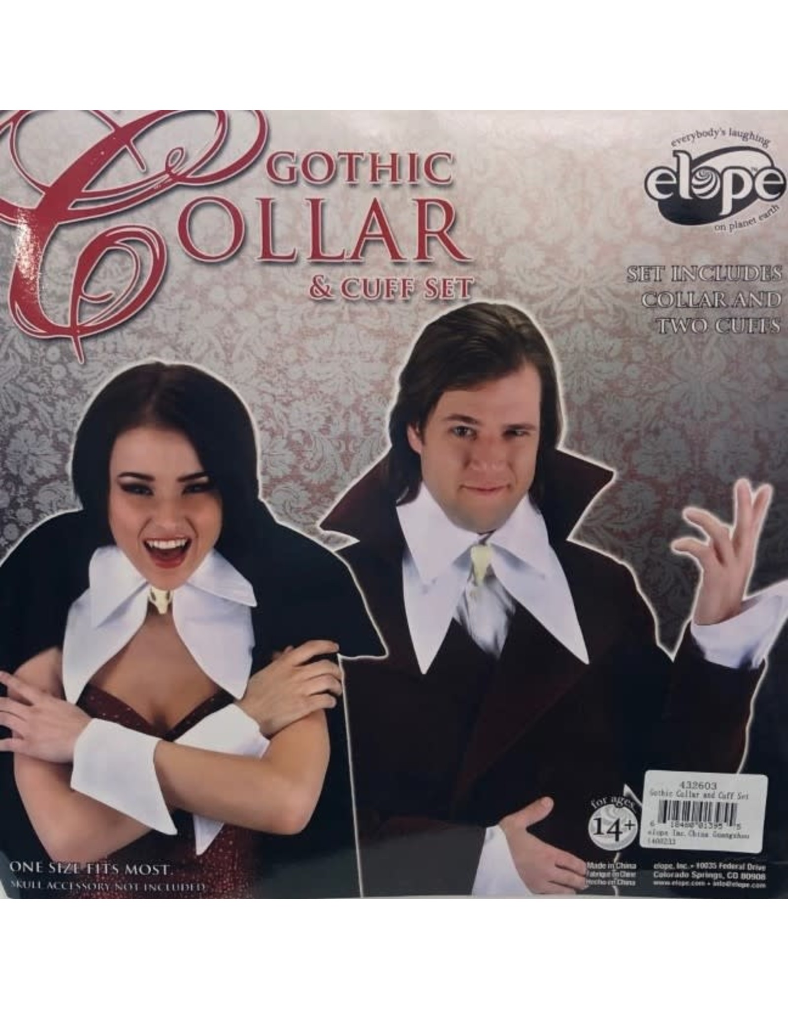 Elope Gothic Collar and Cuff Set