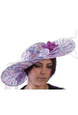 HM Smallwares Purple Kentucky Derby Hat