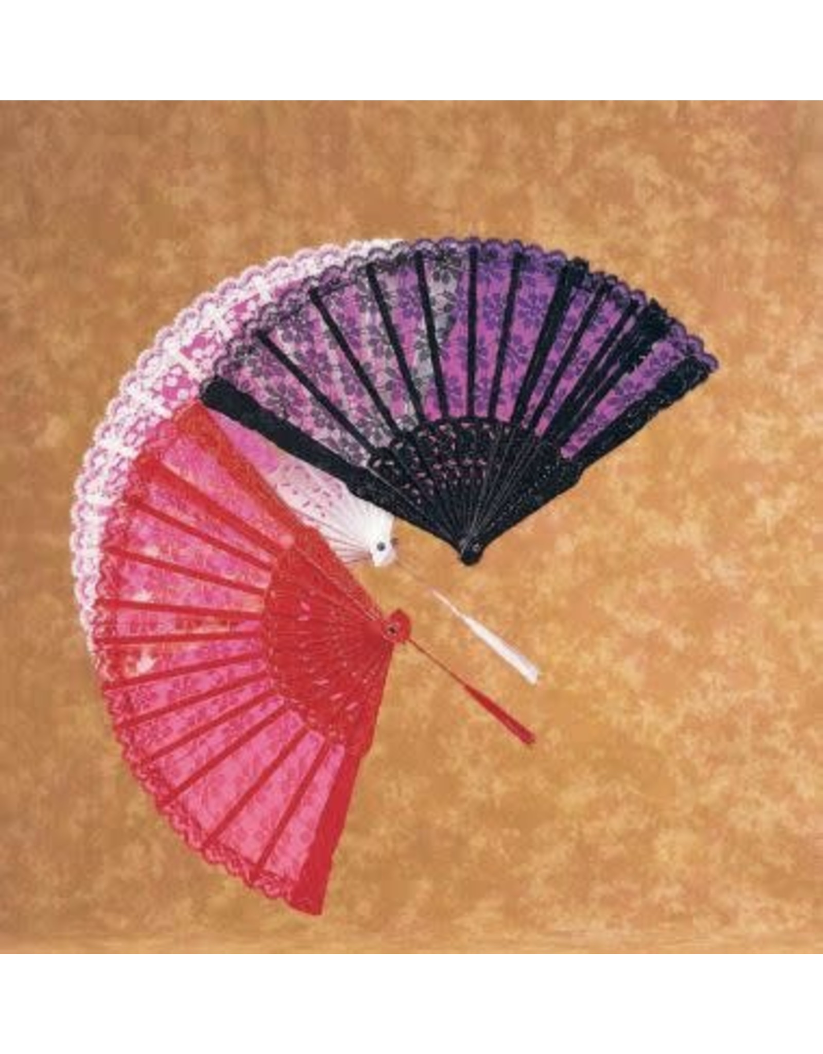 Rubies Costume Lace Fan