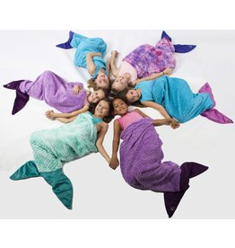 Limeapple Mermaid Tail Sleeping Bag