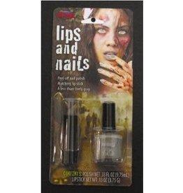 Fun World Zombie Nail Polish and Lipstick