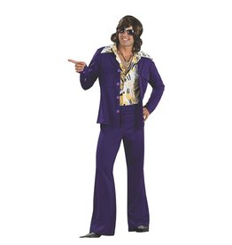 Rubies Costume Purple Leisure Suit