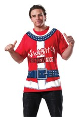 Rubies Costume Naughty/Nice T-Shirt
