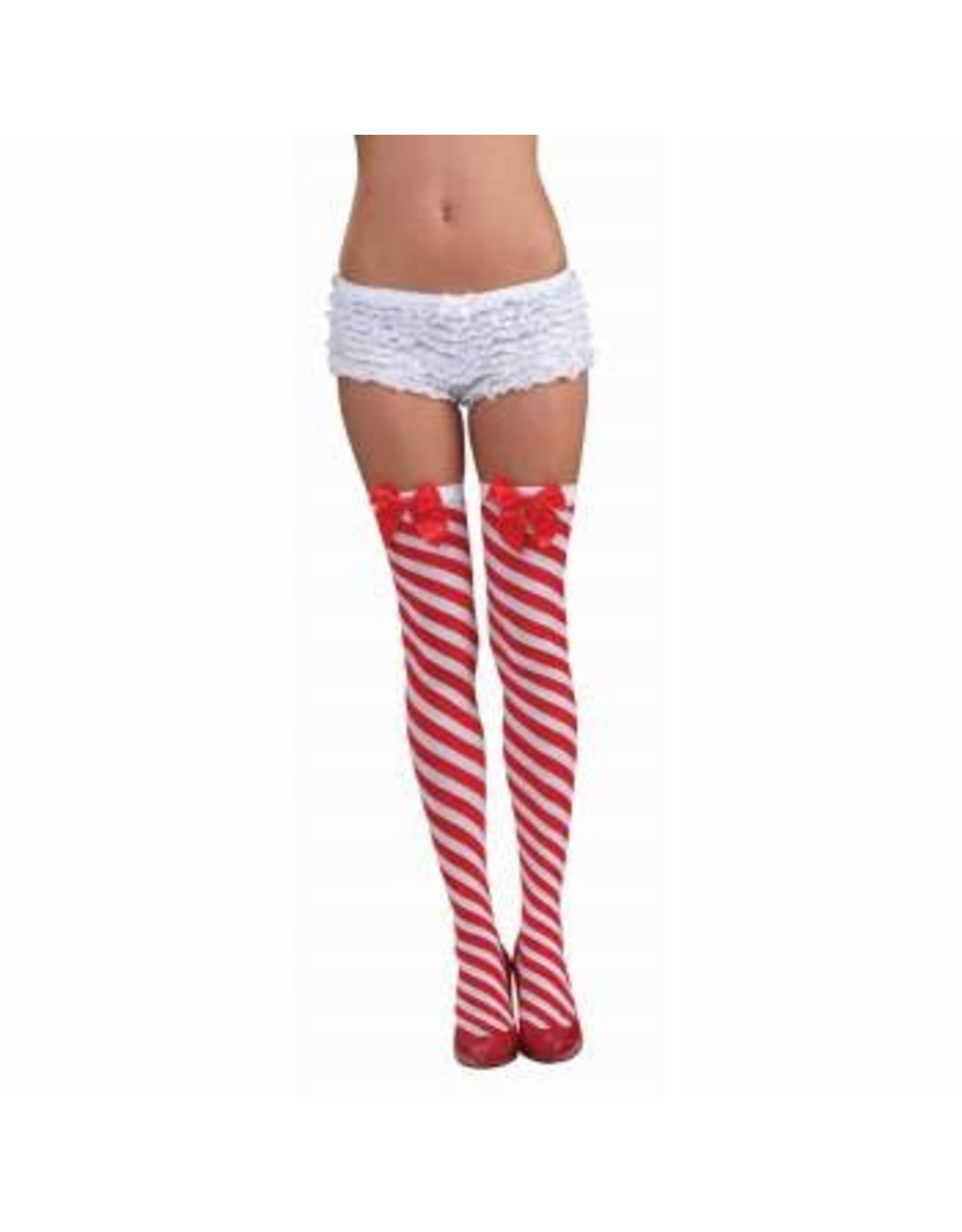 Forum Novelties Inc. Candy Cane Thigh Highs
